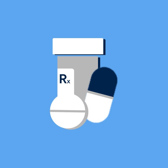 Image of prescription medications