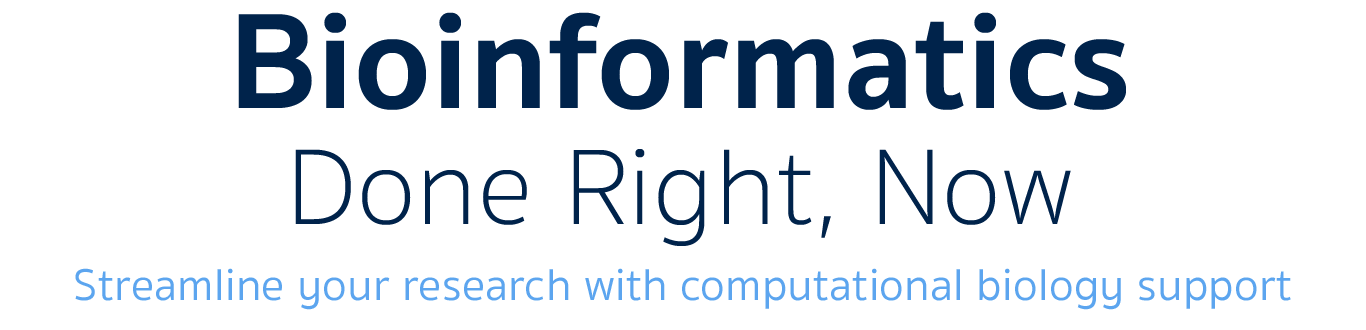Streamline your research with computational biology support